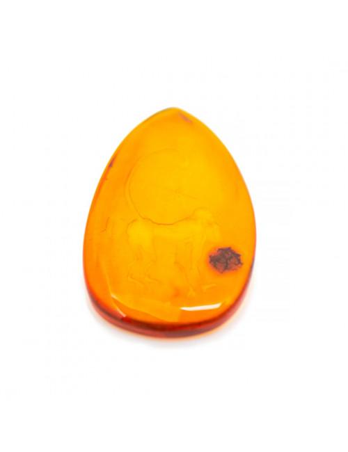 Cognac Amber Beads. Genuine amber beads