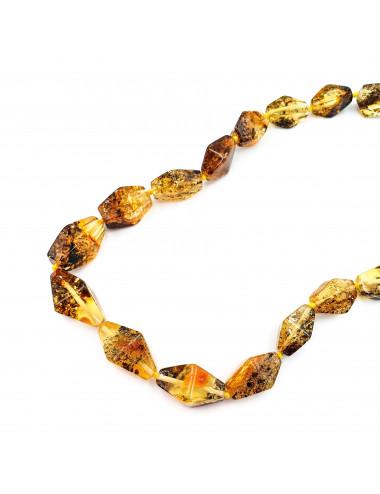 Кольцо с янтарем Грейс