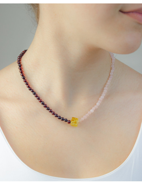 Frame Amber Earrings. Exclusively in the online store Amber Heart