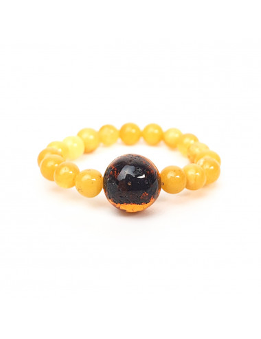 Lily Amber Earrings