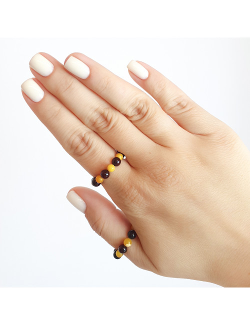 Amber earrings for sale. Amber jewellery from Russia