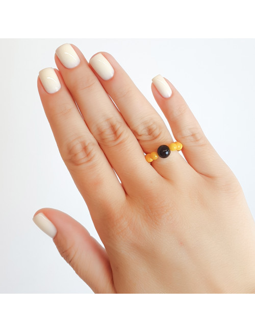 Earrings with amber photo. Amber jewelry