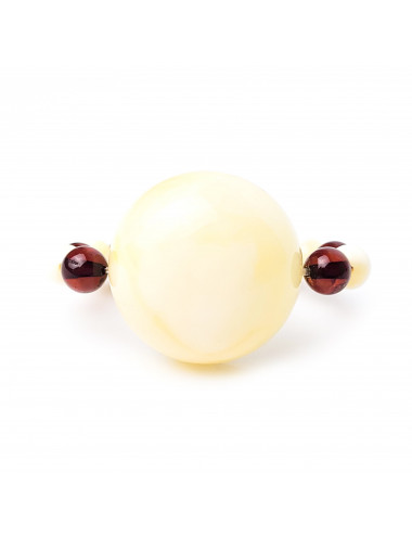 Morning amber earrings