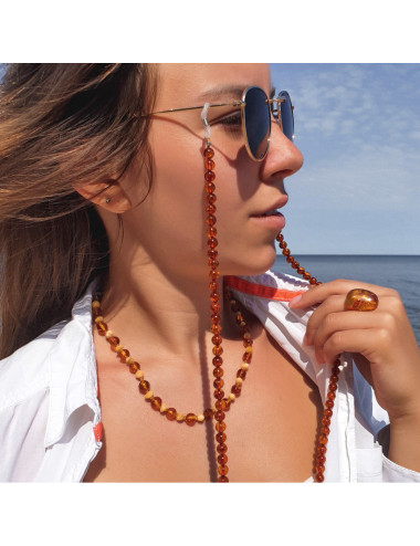 Baltic Amber Clip. Amber jewellery online