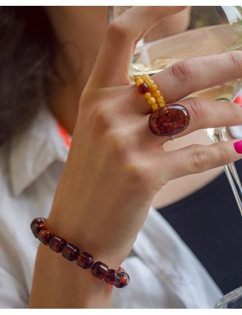 Amber heard earrings. Amber stone earrings