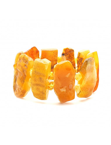Amber beads with biruz. Amber Bulk Beads