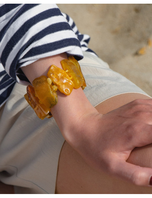 Buy amber beads online. Cognac Amber Beads