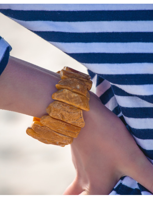 Cognac Amber Beads. Genuine amber beads