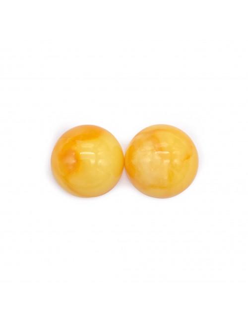 Baltic amber beads. Cognac Amber Beads