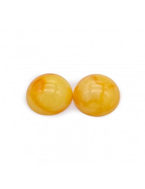 Natural amber beads. Amber Round Beads