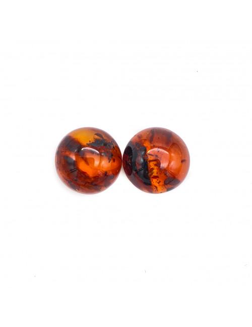 Yellow-green amber. Amber green beads.