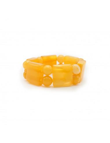 Янтарные бусы шары из королевского янтаря