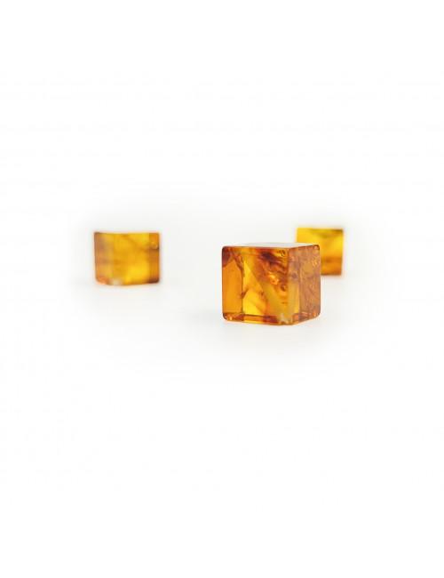 Beads amber barrels. Natural Amber Necklace