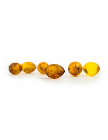 Beads amber raw. Amber Healing Beads