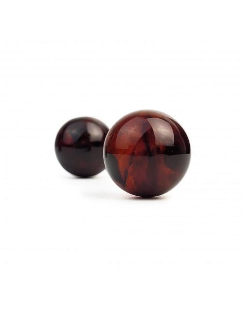 Колье из натурального янтаря. Желтые бусы из янтаря