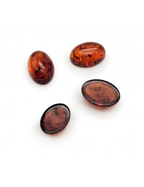 Red amber pendant. Heart pendant amber
