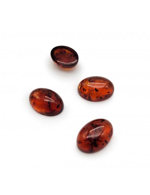 Red amber heart pendant. Amber heart pendant