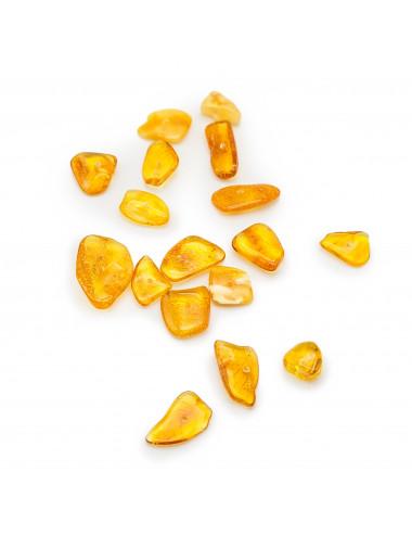 Honey-colored amber bracelet. Natural amber bracelet