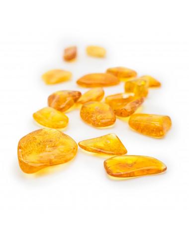Natural amber bracelet. Amber bracelet with elastic