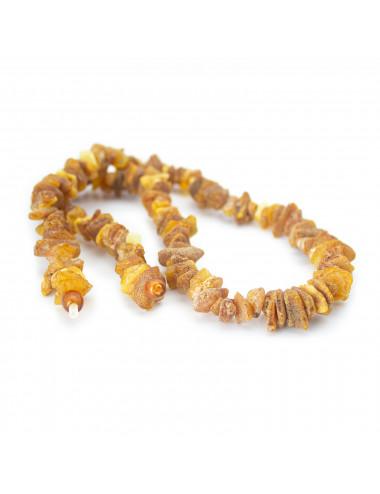 Кольцо с янтарем Глаз тигра
